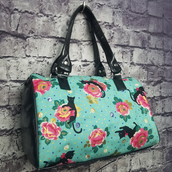 Dipity Bag - Seafoam Black Cat