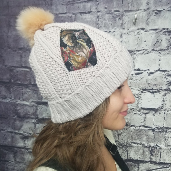 Silent Hill Nurse (Grey)  Beanie