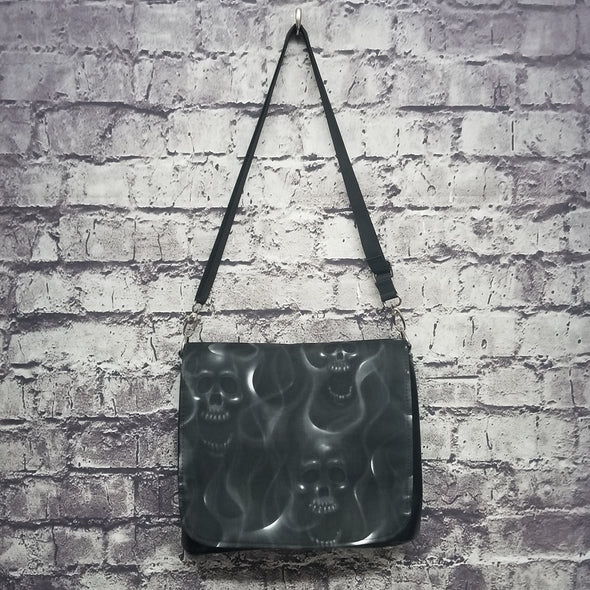 Amelia Bag- Smokin Skulls