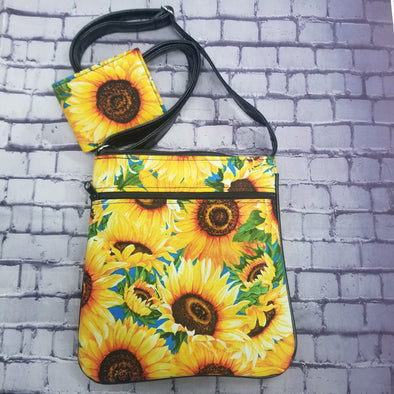 Crossbody & NJFM-Sunflowers