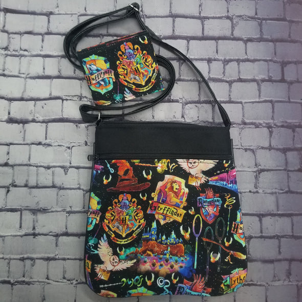 Crossbody & NJFM- Watercolor Harry Potter