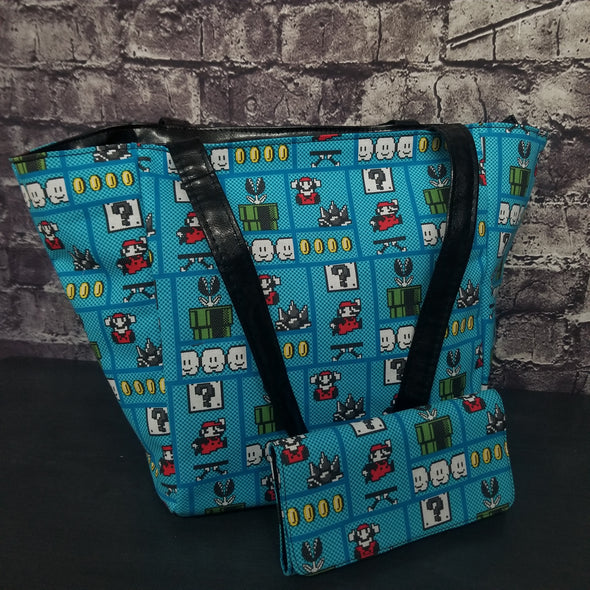 Top Notch Tote & Wallet - Mario