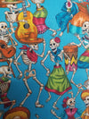 Top Notch Tote - Skeleton Dance Party