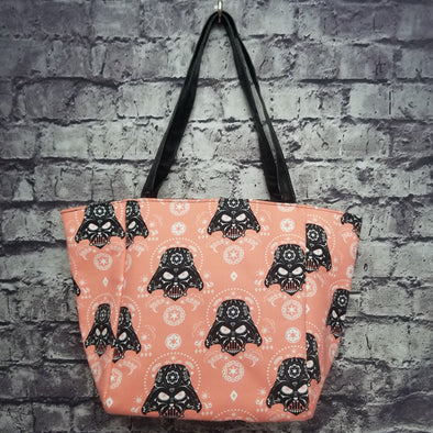 Top Notch Tote - Peach Sugarskull Dath Vader