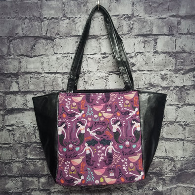 Top Notch Tote - Vinyl Purple Sirens