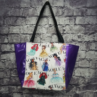 Top Notch Tote - Vinyl Disney Vogue