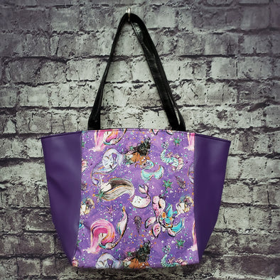 Top Notch Tote-  Mermaid Friends