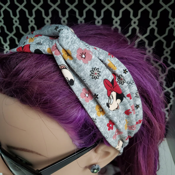 Turban Headband- Minnie Garden