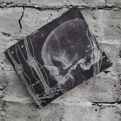 Not Just For Men (NJFM) Wallet - Xray Anatomical Skeleton
