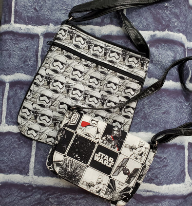 Mommy & Me Crossbody & Crossroads- Stormtrooper