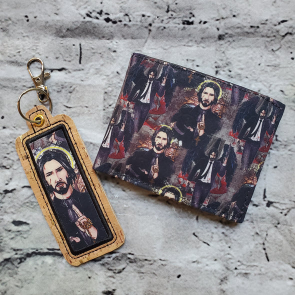 NJFM Wallet & Lipbalm Holder- Saint of Dogs
