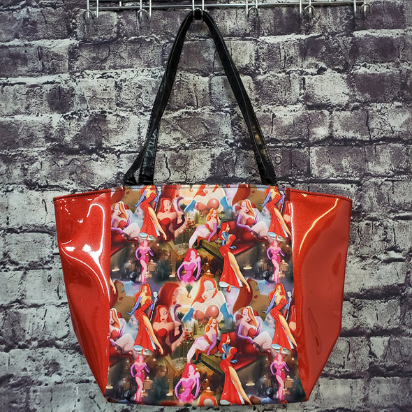 Top Notch Tote- Jessica Rabbit