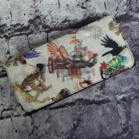 Wallet - Steampunk Travelers