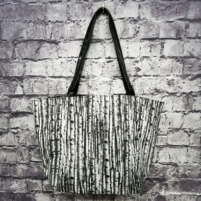 Top Notch Tote- Birch Trees