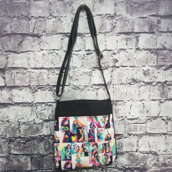 Crossbody - Geometric Princess