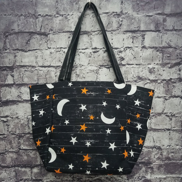 Top Notch Tote- Moon & Stars