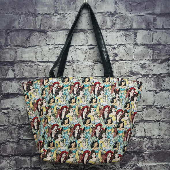 Top Notch Tote-Princess Collage