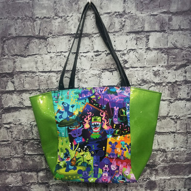 Top Notch Tote- Vinyl Stitch Luau