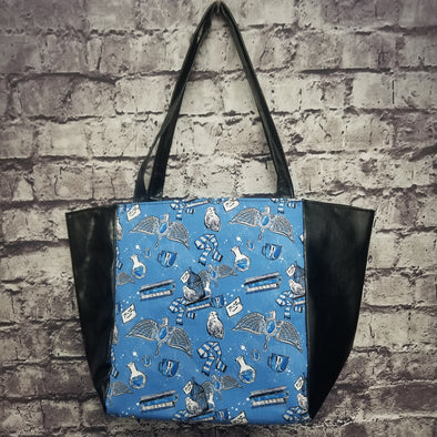 Top Notch Tote- Vinyl Ravenclaw Trinkets