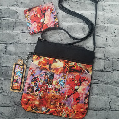 Crossbody & NJFM & LipBalm Holder- Flash