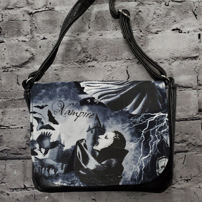 Crossroads Crossbody Bag- Dark Monsters (Dracula)