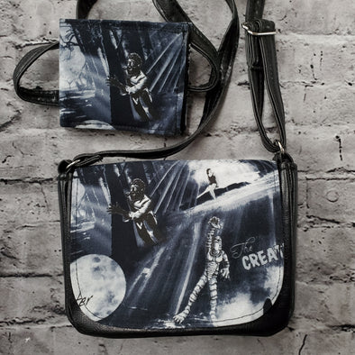 Crossroads Crossbody Bag & NJFM- Dark Monsters (Wolfman & Creature)