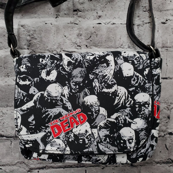 Crossroads Crossbody Bag- Walking Dead Mob