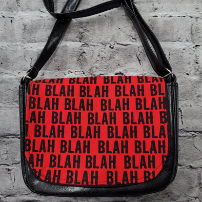 Crossroads Crossbody Bag- Red BLAH BLAH
