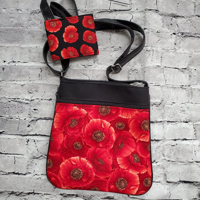 Crossbody & NJFM- Red Poppies