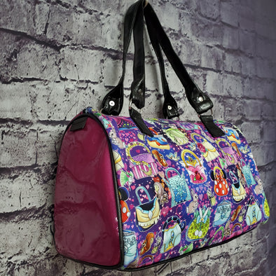 Vinyl Dipity Bag- Princess Purses