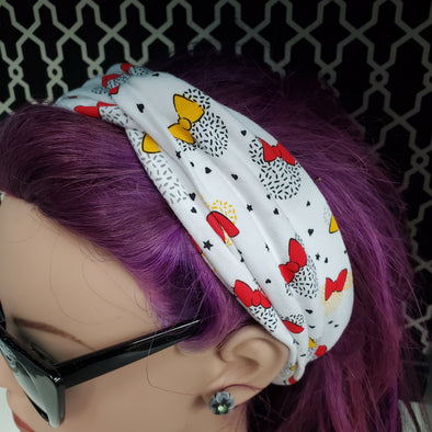 Turban Headband- Minnie Sprinkles