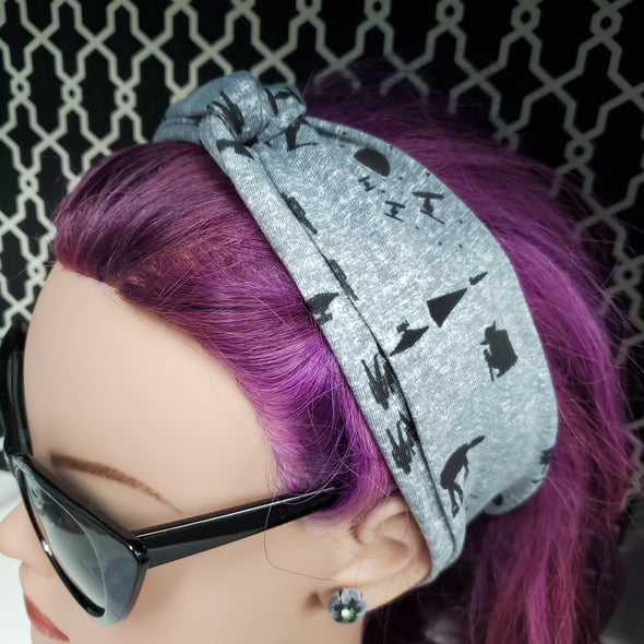 Turban Headband- Starwars Silhouette