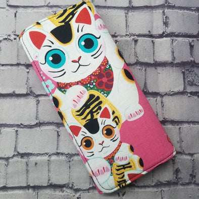 Wallet - Pink Lucky Cat