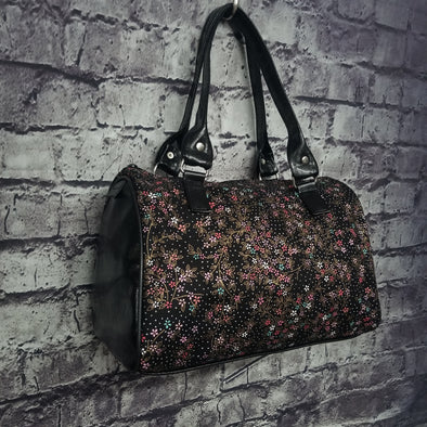 Dipity Bag- Pastel & Gold Blossoms