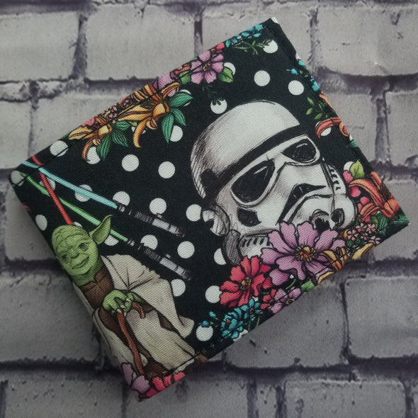 Not Just For Men (NJFM) Wallet- Polkadot StarWars