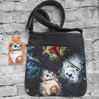 Crossbody & Key Tab- Galaxy War