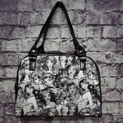 Minerva Bag Tri-Vinyl- Princess Portraits 2.0