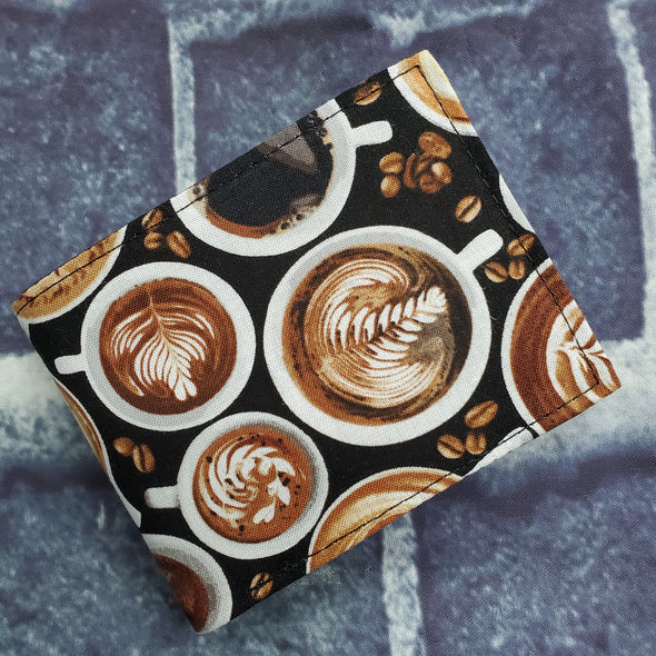 Not Just For Men (NJFM) Wallet- Latte (Swirl)