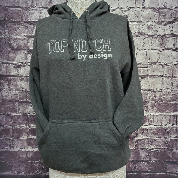 Happy Hour Hoodie-Slate Outline