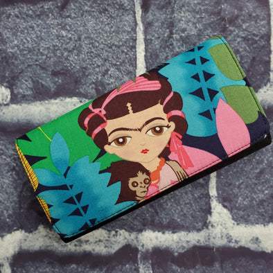 Wallet -Jungle Frida