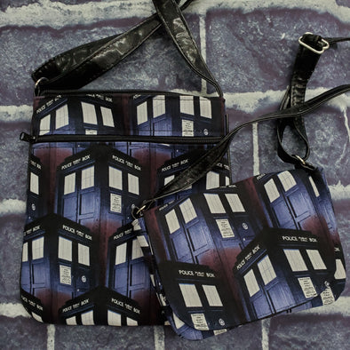 Mommy & Me Crossbody & Crossroads- Tardis