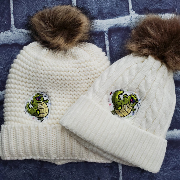 Mommy & Me Beanie Set- Louis (Princess & the Frog)