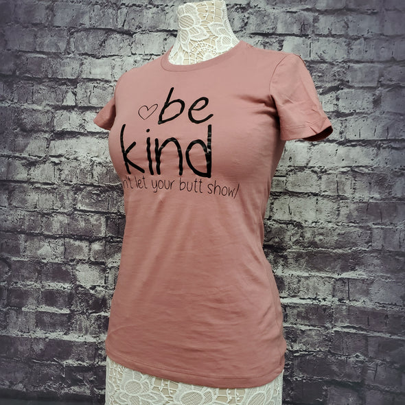 Womens Top Notch Tee- Be Kind