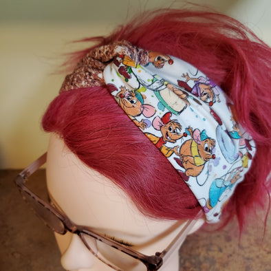 Turban Headband- Taylor Mice