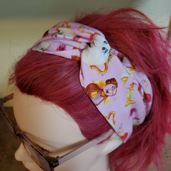 Turban Headband- Be our guest