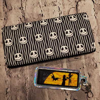 Wallet & Lipbalm Holder- Stripped Jack
