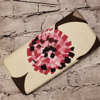 Wallet - Chocolate Floral