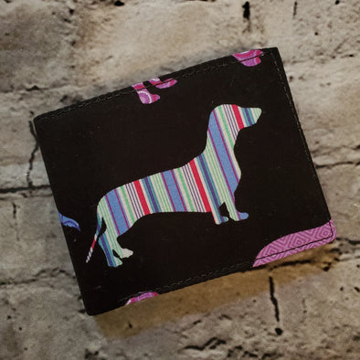 Not Just For Men (NJFM) Wallet - Patterned Pup (Dachshund)