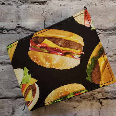 Not Just For Men (NJFM) Wallet - Cheeseburger