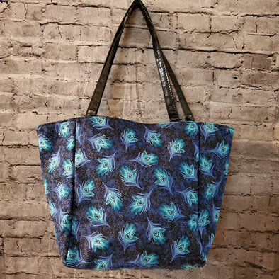 Top Notch Tote- Sapphire's Tail